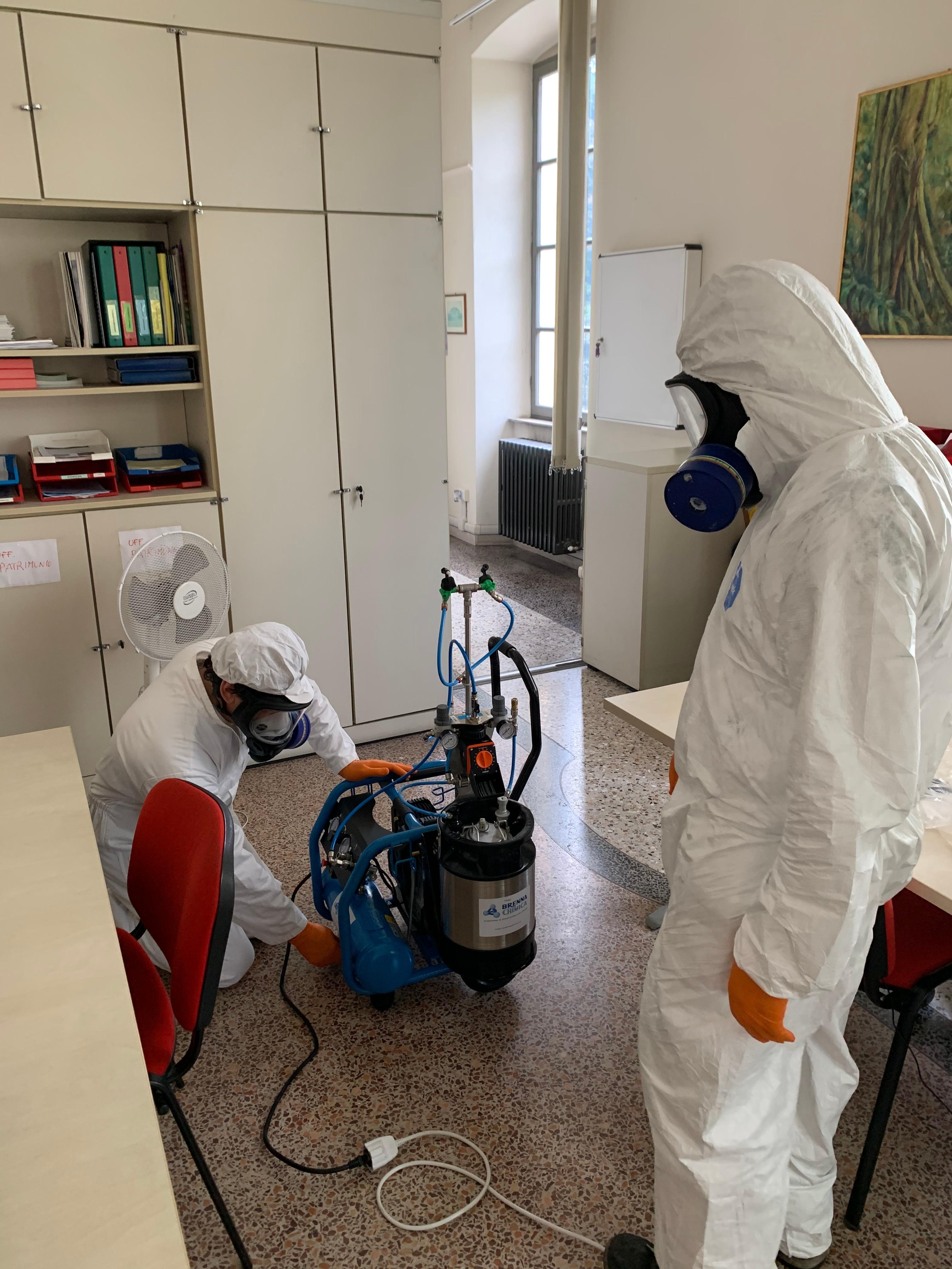 Disinfezione Ambienti: Come Fare